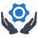 Gear Support Technical Icon