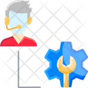 Technical Supportm Technical Support Development Icon
