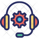 Gear Headset Support Icon