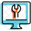 Online Technical Help Statistics Strategy Icon
