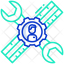 Technical Support Service Communication Icon