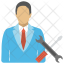 Technical Support Person Icon