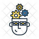 Technical Thinking Human Brain Creative Thinking Icon
