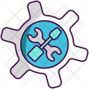 Technical Tools Tools Settings Icon
