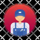 Technician Worker Avatar Icon