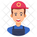 Technician Skilled Person Mechanic Icon