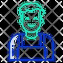Technician Man Icon