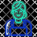Technician Woman Icon