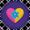 Techno Heart Icon