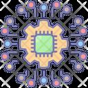 Technologies Processor Modern Icon