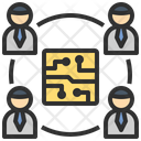 Technology Team Workshop Icon