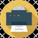 Technology Paper Printer Icon
