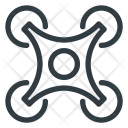 Technology Drone Fly Icon