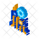 Technology Chip Mechanical Icon