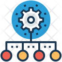 Technology network Icon