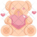 Teddy Bear Toy Icon
