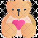 Teddy Bear Bear Toy Icon