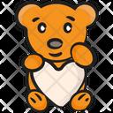 Stuffed Toy Soft Toy Teddy Bear Icon