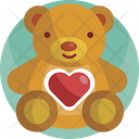 Gifts Teddy Bear Romance Icon