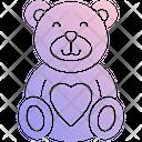 Teddy Bear Stuffed Toy Soft Toy Icon