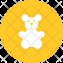 Teddy Bear Stuffed Bear Icon