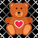 Teddy Bear Romantic Icon