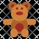 Teddy Teddybear Bear Icon