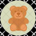 Teddy Bear Toy Baby Icon