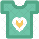 Tee Shirt Heart Icon