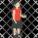 Teenager Young Girl Smartlady Icon