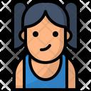 Avatar Girl Teenager Icon Icon