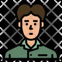 Teenager Man User Icon