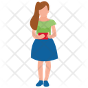 Teenager Girl Female Avatar School Girl Icon