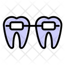 Dental Braces Dental Care Dental Health Icon