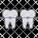 Braces Dental Dentist Icon