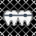 Teeth Bracing Icon
