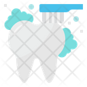 Teeth Brush Cleaning Icon