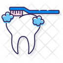 Iteeth Brushing Teeth Brushing Teeth Icon