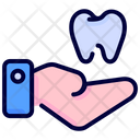 Hand Tooth Molar Icon