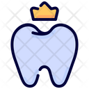 Crown Stomatology Tooth Icon