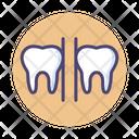 Teeth Gap Icon