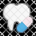 Teeth Capsule Drugs Icon
