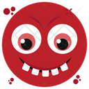 Teeth Out Emoji Icon