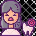 Teeth Pain Icon