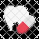 Capsule Medicine Pills Icon