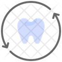 Recheck Refresh Tooth Icon