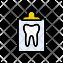 Report Teeth Checkup Icon