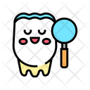 Tooth Research Color Icon