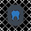 Teeth Shield Oral Icon