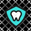 Teeth Shield Tooth Shield Teeth Protection Icon
